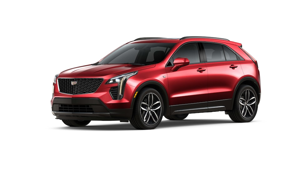 Cadillac XT4 2019 camioneta pequeña color red horizon
